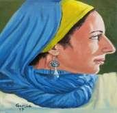 بعض أعمال الفنان التشكيلي العالمي والشاعر:غارسيا ناصح من ألمانيا