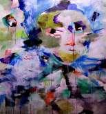 التشكيلي المغربي حمزة المخفي لوحات بألوان الفرح و حب الحياة